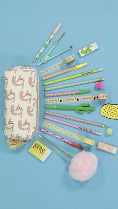 #HEMA #stationery #backtoschool #school Back 2 School, School Stuff, School Suplies, School Essentials, Cute Friends, Planer, Om, Stationery, Bullet Journal
