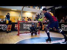 FOOTBALL -  El Barça d'hoquei patins visita L'illa Diagonal - http://lefootball.fr/el-barca-dhoquei-patins-visita-lilla-diagonal/