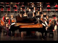 Mozart Concerto for 2 Pianos and Orchestra in E-flat major, K.365. Rolf-...