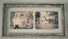 Vintage things are very fashionable and look cool. Such a photo frame with black and white photos would raise your spirits every day. The supplies are: a bare wood frame, two 8×10 black and white photos, DecoArt Americana Acrylic Paint in Snow (Titanium) White, a sponge brush, steel wool, Sticky Tak and some Washi Tape. The crafting is rather simple, don't forget to dry-brush the frame before starting the work.