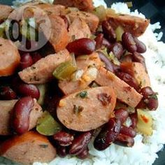 Louisiana red beans and rice @ allrecipes.co.uk
