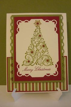 Snow Swirled Christmas by 2fogles - Cards and Paper Crafts at Splitcoaststampers
