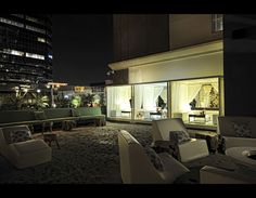 W Hotel rooftop W Hotel, Rooftop Deck, Enjoy Summer, Rooftops, My Favorite Image, City Living, Summer Parties, Lounges, Interior Design Inspiration