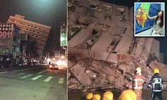 BREAKING NEWS: 6.4 magnitude earthquake shakes Taiwan