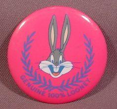 Genuine 100% Looney, Bugs Bunny, Looney Tunes