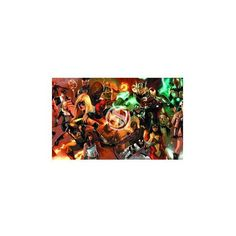 HD DC Comic Marvel Avengers Poster 20x30inch verson1 Canvas Poster http://geek.ragebear.com/jwhd7