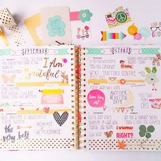 geraldinejayne: Last week's spread in my Bando agenda