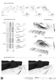 Winding Ridges generazione delle geometrie