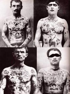 old tattoos20 Pioneers of Modern Tattoos