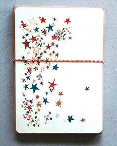 "High Note  No, we're not talking about ""The Star-Spangled Banner"" -- just this gorgeous confetti-star stationery."