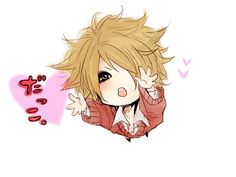Ruki (the GazettE) aww! This is so cute! (≧▽≦)