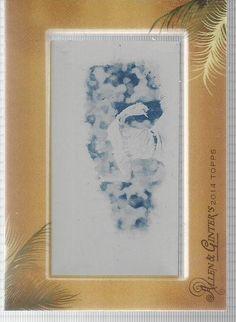 Pedro Martinez 1/1 Mini Cyan Printing Plate 2014 Topps Allen & Ginter #BostonRedSox
