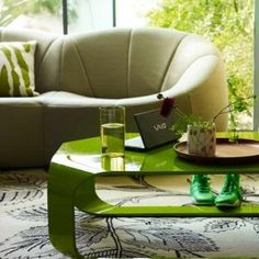 3-modern-living-rooms-ideas-green-living-room   Home Interior Design, Kitchen and Bathroom Designs, Architecture and Decorating Ideas