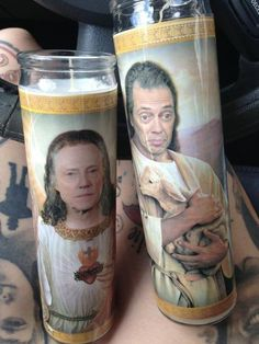 steve buscemi and christopher walken candels