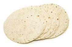Gevulde tortilla wraps met salade - vegalekker.com