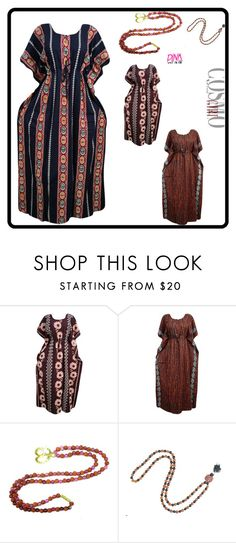 """""""Housedress Boho Caftan"""" by era-chandok ❤ liked on Polyvore featuring caftan, kaftan, sale and offer"""