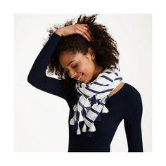 Club Monaco Klarisza Tassel Scarf ($99) ❤ liked on Polyvore featuring accessories, scarves, tassel scarves, woven scarves, club monaco, cotton shawl and cotton scarves