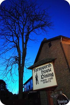 Historic Farnsworth House Inn - Gettysburg, PA {Why is the Farnsworth House haunted? Find out here: http://www.hauntedbnb.com/haunted-bed-and-breakfasts-and-haunted-hotels/united-states/northeast/mid-atlantic/pennsylvania-pa/historic-farnsworth-house-inn/}