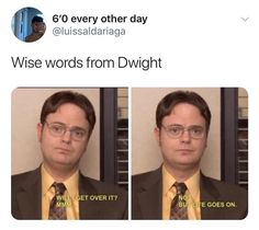 Really Funny Memes, Stupid Funny Memes, Funny Relatable Memes, The Funny, Hilarious, Best Of The Office, The Office Show, Office Jokes, Johnlock