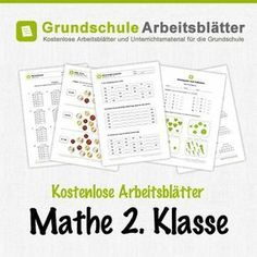 Grundschule Material kostenlos Arbeitsblätter | Maths / kertolaskut ...