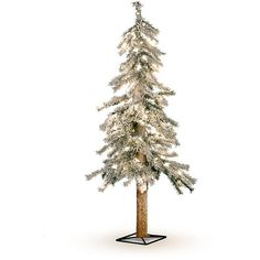 Improvements Flocked Alpine Pine 3' Christmas Tree (€47) ❤ liked on Polyvore featuring home, home decor, holiday decorations, artificial christmas tree, decorative christmas tree, indoor christmas decoration, christmas holiday decor, christmas home decor, christmas holiday decorations and white home decor
