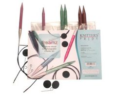 Knitter's Pride Dreamz Interchangeable Chunky Set Needles at Jimmy Beans Wool Knitting Needle Sets, Circular Knitting Needles, Knitting Stitches, Knitting Yarn, Knitting Patterns, Interchangeable Knitting Needles, Shops, Thick Yarn, Types Of Yarn