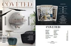 @CovetedMagazine — one of the @imagazines' favorite media partners — has decided to help us solve your decorating problem with its first special issue of #CovetEDCollection, filled with more than 100 inspirations to spruce up your home. Click here to discover how you can get download it for free! ➤ To see more news about the Interior Design Magazines in the world visit us at www.interiordesignmagazines.eu #interiordesignmagazines #designmagazines #interiordesign