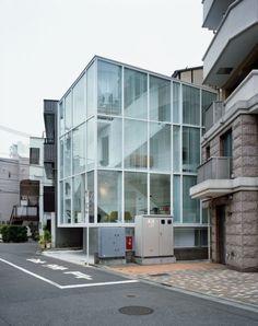 내부가 보이는 건물 디자인