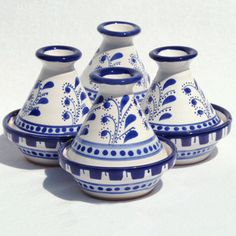Azoura Mini Tagines Set Of 4 now featured on Fab.