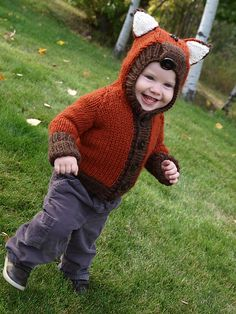Ravelry: Willy the Wily Fox Pattern von Kasia Smolak - bezaubernd !