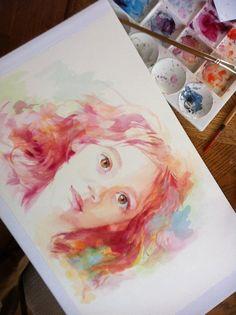 Custom portraits for grandchildren... if we get a windfall. Haha!