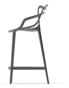 Masters bar stool co-designed by Eugeni Quitllet and Philippe Starck for indoor/outdoor use