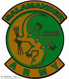 Salamander army.