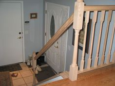 Etonnant How To Install Banister Railing   Google Search