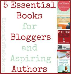 5 Essential Books For Bloggers