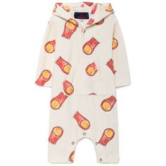 552674e52ea Halleys Comet Seagull Baby Suit by The Animals Observatory – Junior Edition  Halley s Comet