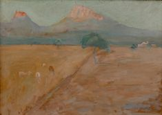 Ernesto Schiess 1917-19 Landschaft  Nordafrika Painting, Art, Switzerland, Scenery, Painting Art, Art Background, Kunst, Paintings, Performing Arts