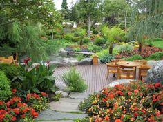Flor and Fjаеre botanical garden Norway