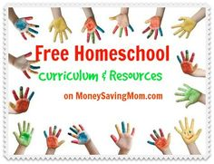HUGE List of FREE Homeschool Curriculum, Resources, and More!