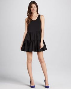Angel Tie-Back Tiered Dress by Lovers + Friends at Neiman Marcus.