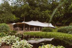 Laid Back Summer Garden Party Wedding in Stretch Tents Wedding Groom, Wedding Attire, Back Garden Wedding, Back Gardens, Summer Garden, Decoration, White Flowers, Gazebo, Tents