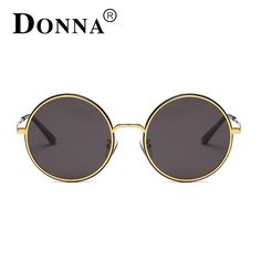 DONNA Women's Fashion Sunglasses Vintage Round Women… Get an EXTRA 20% OFF ALL Orders with discount code: FWCOM20 #BestPrice #DiscountCode
