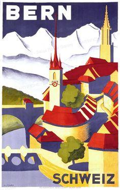 Berne - Switzerland 1936 Schär Hans