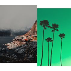 Vous êtes plutôt fjords norvégiens ou sunlights des tropiques? — #moodboard moodoftheday #moodday #mondays #socialmedia #photography #humeur #contentcreation #images #visual #socialmedia Fjord, Creations, Images, Movie Posters, Painting, Art, Art Background, Film Poster, Popcorn Posters