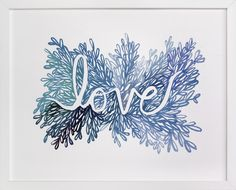 Love by Kelly Ventura at minted.com
