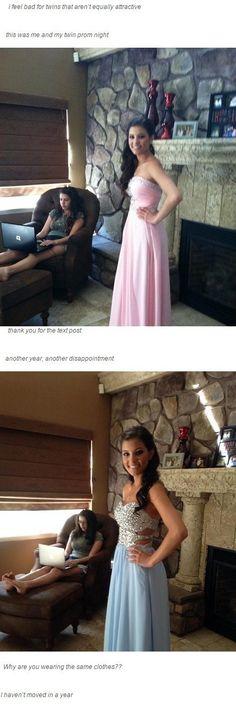 Screw the girl what happened to the taller candle stick/vase (whatever it is) a year later? Who broke it!<< I would've taken the other girl to prom, she actually really pretty Funny Cute, The Funny, Hilarious, Daily Funny, Tumblr Funny, Funny Memes, Funny Cartoons, Haha, Totally Me