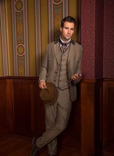 James Maslow as Dr. Watson photo shoot for the Sherlock Holmes play. 2015