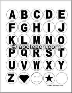 alphabet letters to cut out of 2 alphabet circles upper and lower case letters whole
