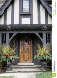 English Tudor Style Front Doors Tudor Style Homes Tudor Style English Tudor