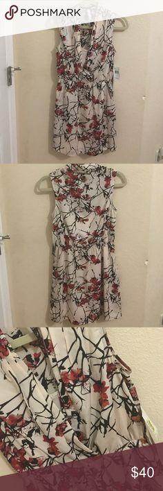 Kensie Spring Dress Cute spring or summer dress slip is not attached to dress (see pics) Kensie Dresses Midi
